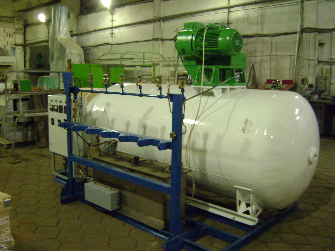 Gasification plants (SGU (СГУ), AGU (АГУ)