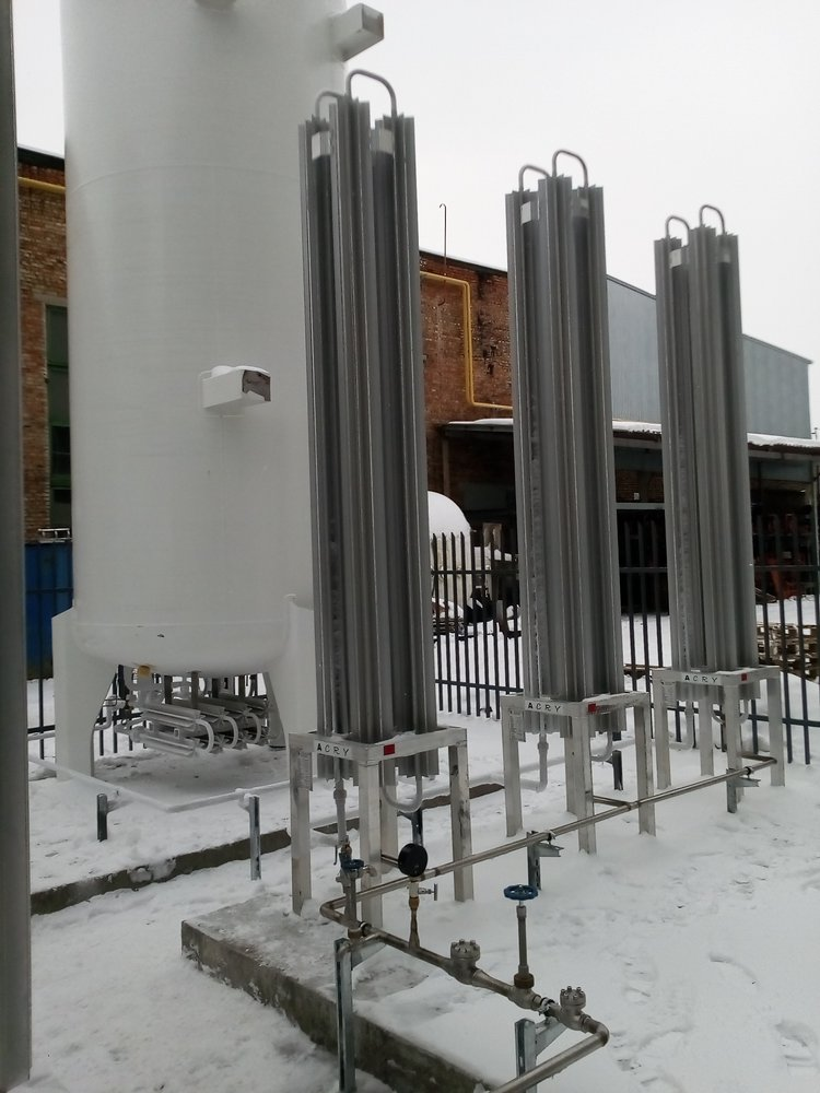 "CREATION OF THE TECHNICAL GASES SUPPLY STATION ""on-site"" system"